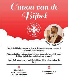 SOJP Canon van de Bijbel